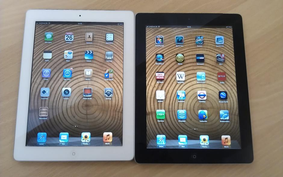 IPAD 3 - 4G - 32GB (BLACK/WHITE) LIKE NEW 99%