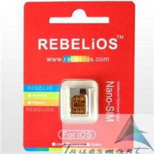 Rebel sim unlock iPhone 4s/4