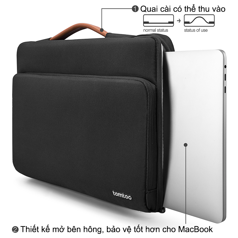 Túi Chống Sốc Tomtoc Briefcase