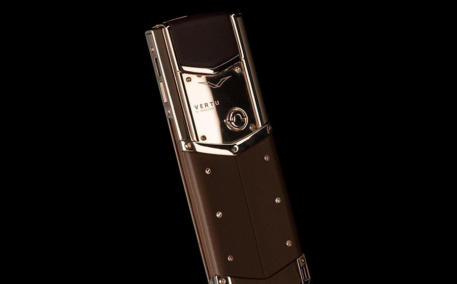 Vertu Fake Signature S Limited Pure Chocolate Red Gold