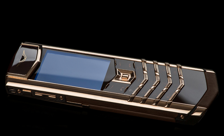 Vertu Signature S Chocolate Red Gold (Cao cấp)