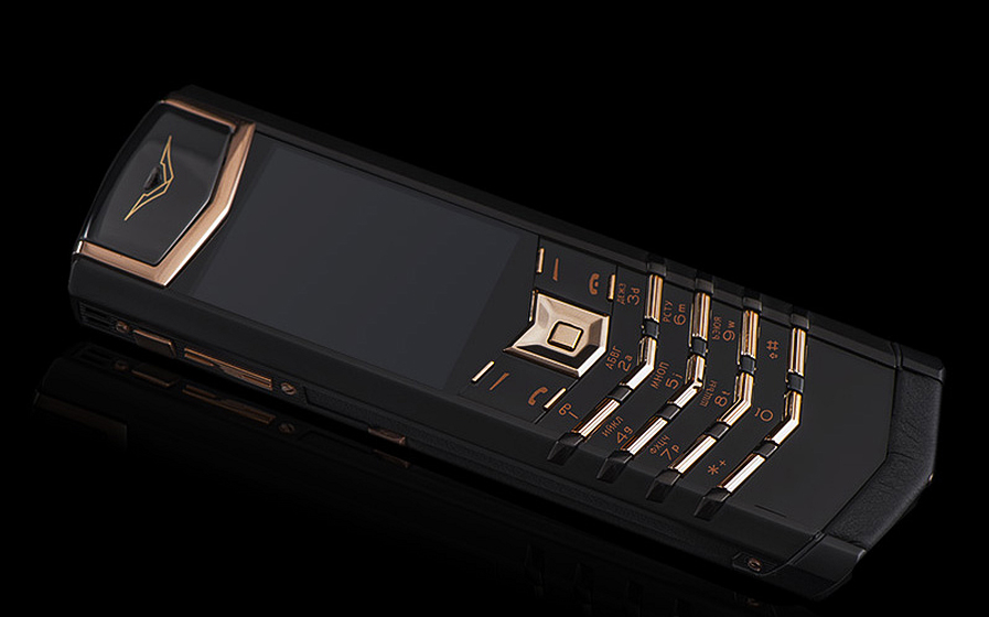 Vertu hongkong Signature S Limited Black Red Gold