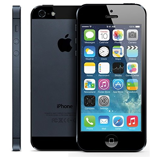 iPhone 5 LOCK 16GB/32GB/64GB Black ( Fullbox) Mới 98%