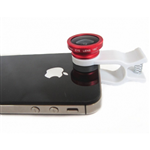 Lens Fish Eye 3 in 1 cho Smart Phone