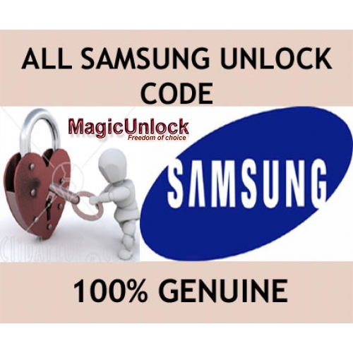 Samsung Unlock Code Galaxy Note1/Note 2/Note 3/Note 4/Note 5/Note 6