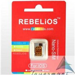 Sim ghép Rebel unlock iphone 5s,5c,5