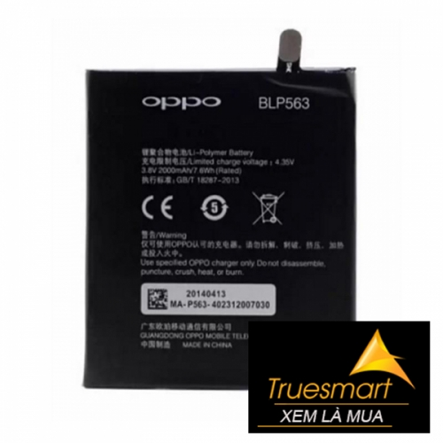 Thay pin OPPO Find 5 (X909)