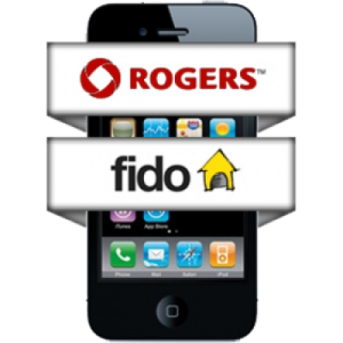 Unlock iphone 4,4s,5 Fido, Roger Canada