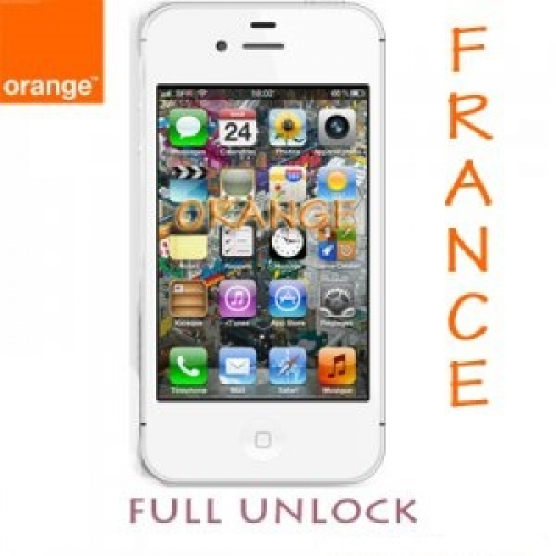 Unlock iPhone 4s/5 Mạng Orange Pháp