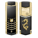 Vertu Fake Signature Gold Dragon