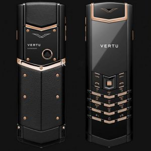 Vertu Signature S Limited Black Red Gold