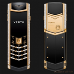 Vertu Signature S Yellow Gold Diamond Bag Keys (Siêu cấp)