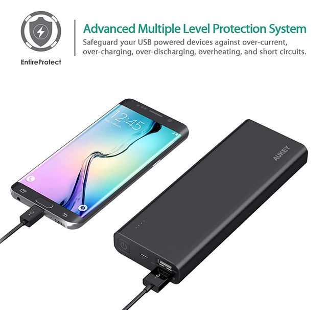 Pin dự phòng AUKEY PB-AT20 Premium 20100 mAh Quick Charge 3.0
